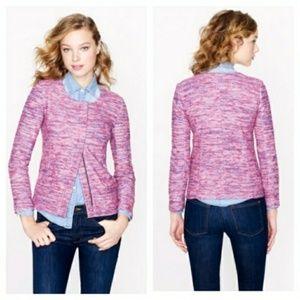J. Crew Pink Knit Jacket